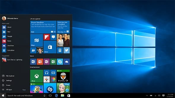 Microsoft Windows 10 Professional Retail  - Taal:  Alle talen
