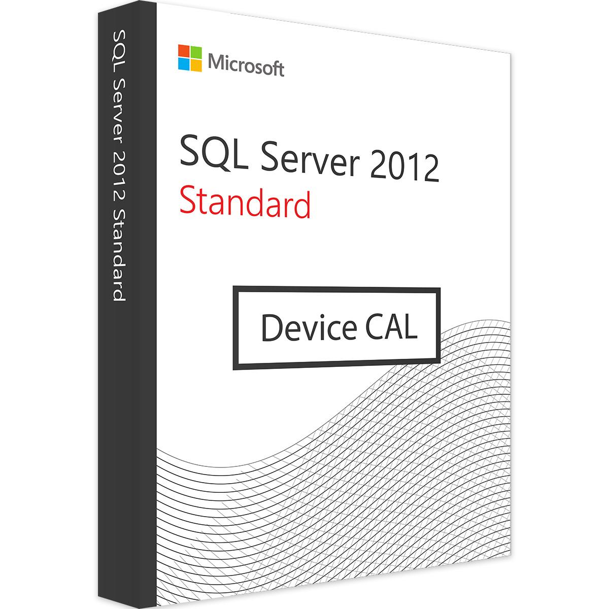 Microsoft SQL Server 2012 Device CAL - Microsoft Open License