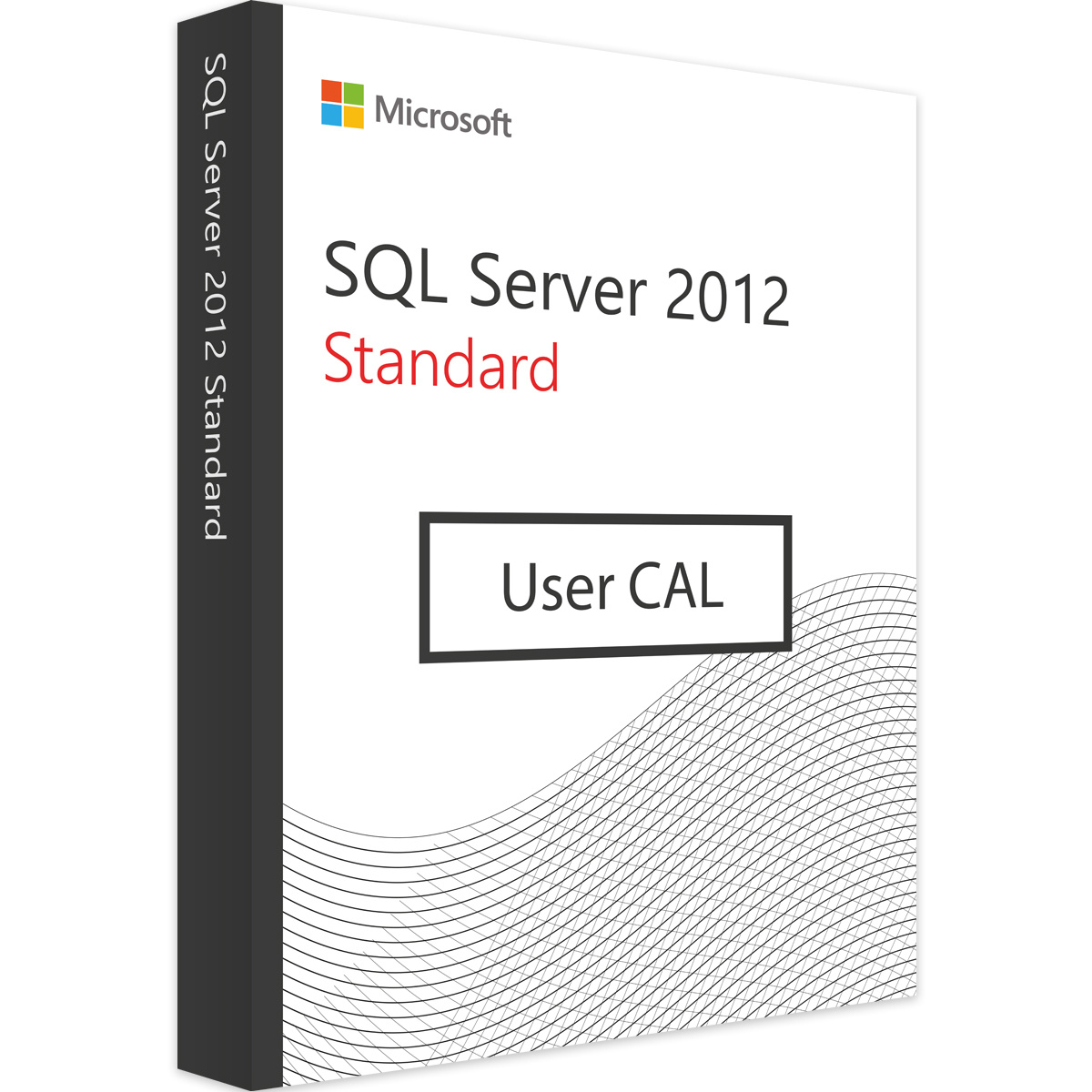 Microsoft SQL Server 2012 User CAL - Microsoft Open License