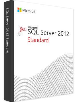 Microsoft SQL Server 2012 Standard - Volume Licentie
