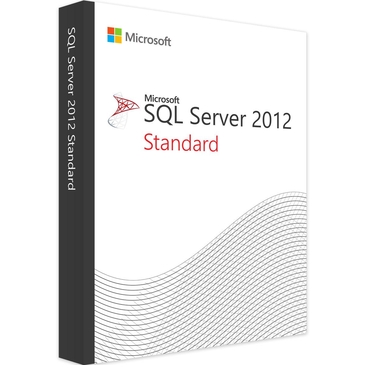 Microsoft SQL Server 2012 Standard - Microsoft Open License