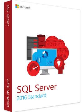 Microsoft SQL Server 2016 Standard - Volume Licentie