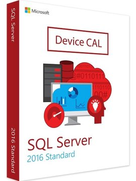 Microsoft SQL Server 2016 Device CAL - Volume Licentie