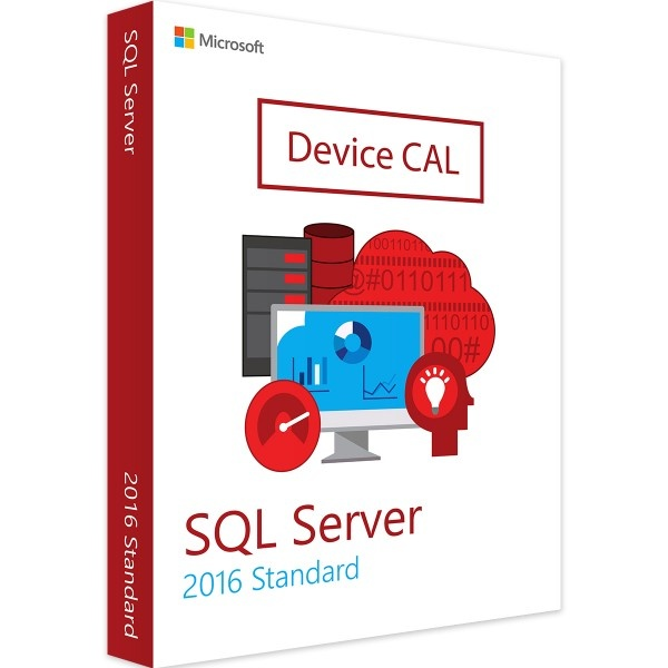 Microsoft SQL Server 2016 Device CAL - MS Open License