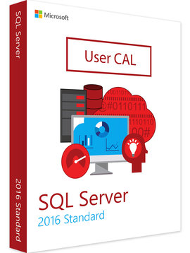 Microsoft SQL Server 2016 User CAL - Volume Licentie