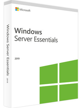 Microsoft Windows server 2019 Essentials - Taal: Engels