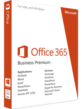 Microsoft Microsoft Office 365 Business Premium - Alle Talen