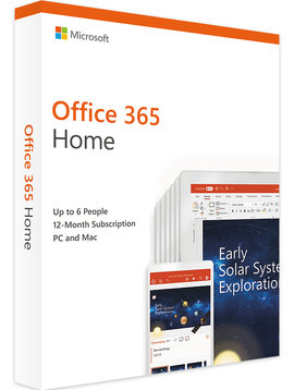 Micosoft Microsoft Office 365 Home - All Languages - 32/64-bit