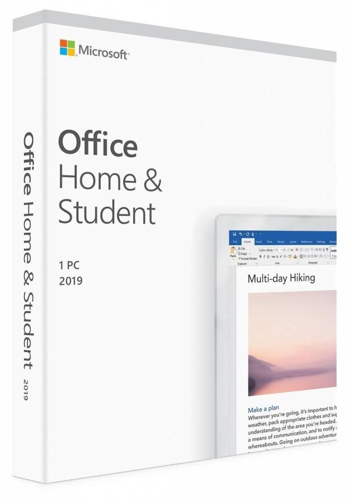 Microsoft Office 2019 Home & Student - Nederlands
