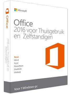 Microsoft Office 2016 Thuisgebruik & Zelfstandigen Nederlands