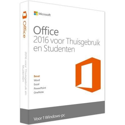 Microsoft Office 2016 Thuisgebruik & Studenten Nederlands Conditie: Used