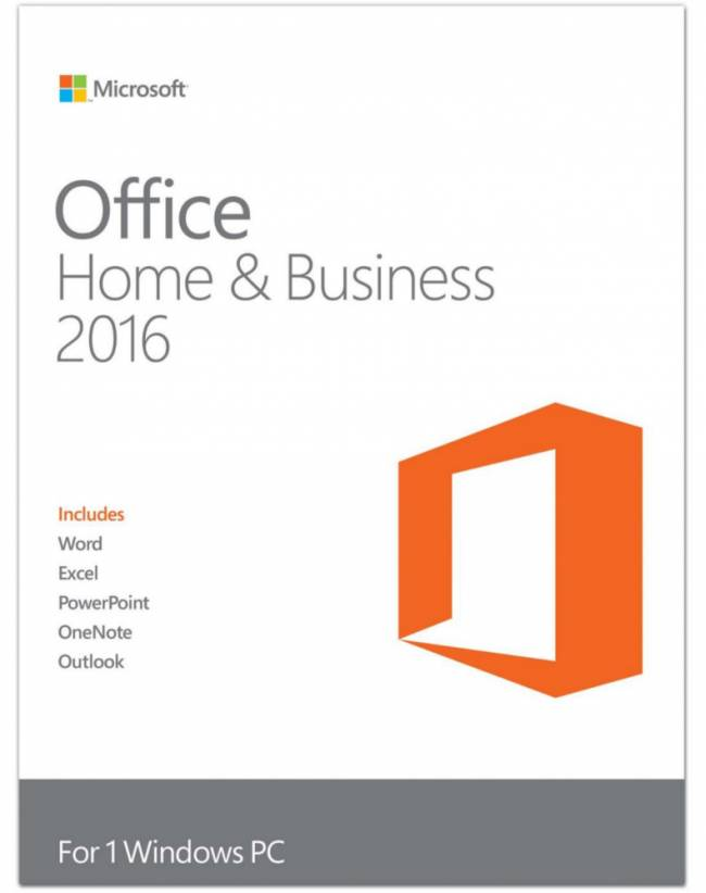 Microsoft Office 2016 Home & Business - Alle Talen