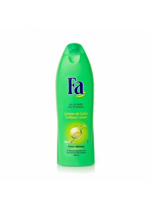 Fa Frescor Limones Del Caribe - Caribbean Lemon Bad & Douche 550ml
