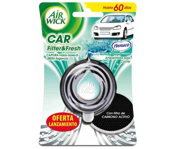 Nenuco Nenuco Airwick Car Filter & Fresh Luchtverfrisser