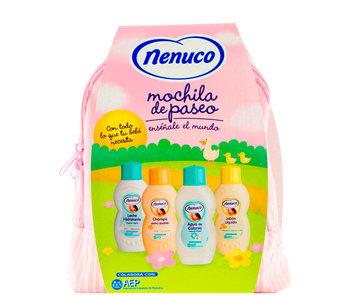 Nenuco Nenuco rugzakje met 4 producten - Roze