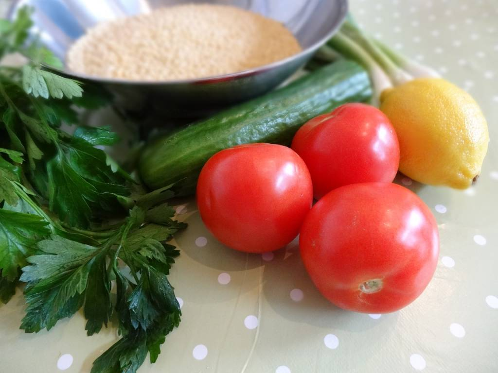 Glutenvrij quinoa recept: taboulé