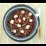 Vegetarische quinoasalade met rode biet, tofu, appel en munt