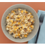 Vega salade bulgur, pompoen, geitenkaas en walnoten