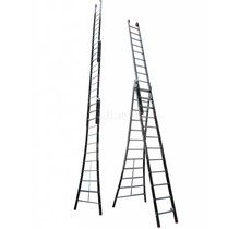 3.25 - 7.75m 3-delige Atlas - black reformladder 3x12