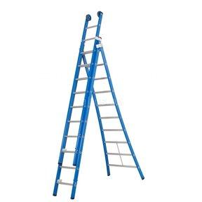 Atlas blue 3-delig 3x10 reformladder blauw