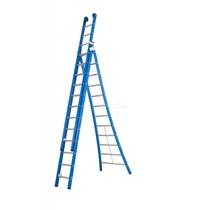 DAS products atlas blue 3-delig 3x12 reformladder blauw
