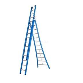 Atlas blue 3-delig 3x12 reformladder blauw