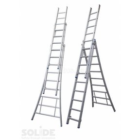 3-delige reformladder model D3x9