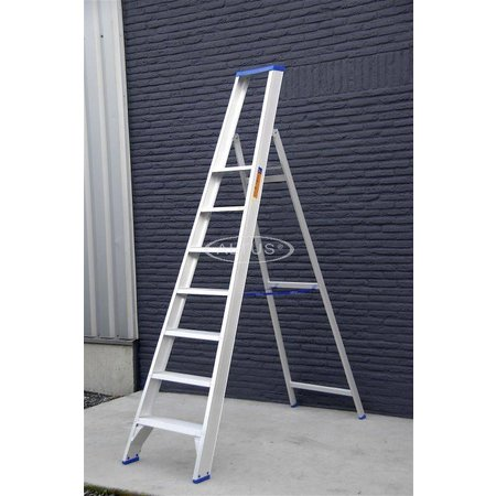 Solide Solide enkele professionele trapladder model PT 7