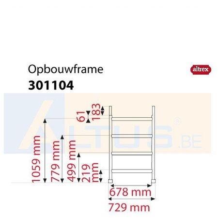 Altrex Altrex RS5 tower onderdelen opbouwframe 75-28-4 301104