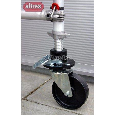 Altrex Altrex RS tower onderdelen wielstaander + geremd wiel 200mm
