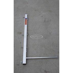Paal voor werkbrug solide
