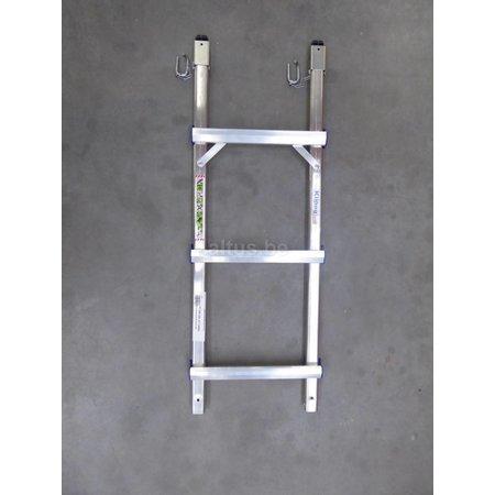 TUBESCA Tubesca onderdelen klipeo ladder module 3 sporten breedte 330mm voor klipeo