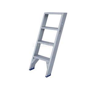 Solide rechte enkele trap 4 treden