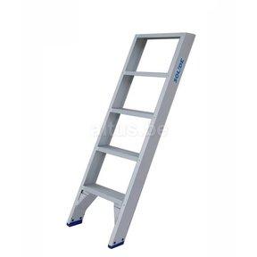 Solide rechte enkele trap 5 treden