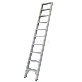 Solide rechte enkele trap 10 treden