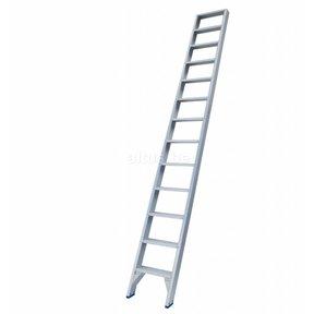 Solide rechte enkele trap 13 treden