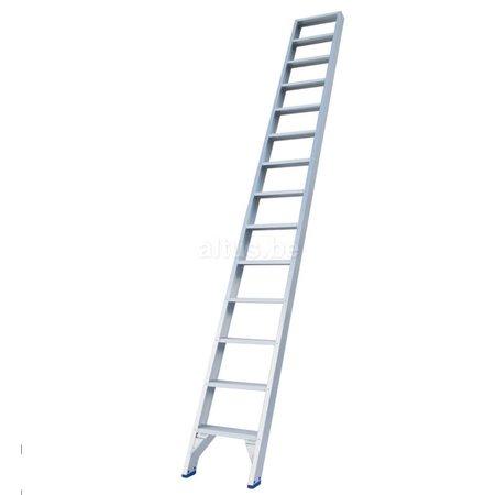 Solide Solide professionele rechte enkele trap 14 treden