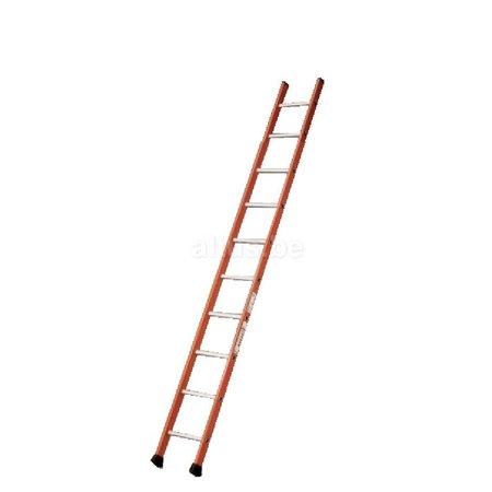 TUBESCA Tubesca enkele ladder 10 ALU treden enkel recht