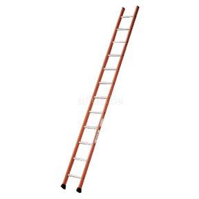 Enkele ladder 12 ALU treden