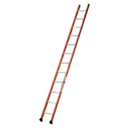 TUBESCA Tubesca enkele ladder 12 ALU treden enkel recht