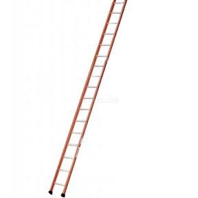 Enkele ladder 17 ALU treden