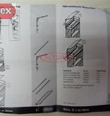 Altrex Altrex doorwerkkap 1.35 x 1.85m