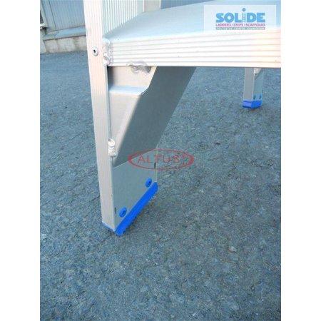 Solide  Solide dubbele professionele trapladder model DT 2x2 treden
