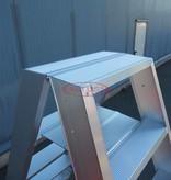 Solide  Solide dubbele professionele trapladder model DT 2x4 treden