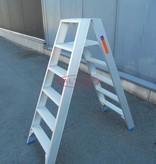 Solide  Solide dubbele professionele trapladder model DT 2x6 treden