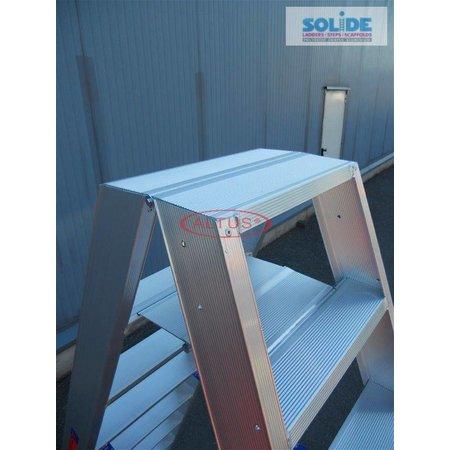 Solide  Solide dubbele professionele trapladder model DT 2x8 treden