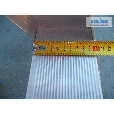 Solide  Solide dubbele professionele trapladder model DT 2x12 treden