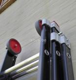 DAS products 2.80 - 6.25m 3-delige Atlas - black reformladder 3x10