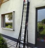 DAS products 3.25 - 7.75m 3-delige Atlas - black reformladder 3x12