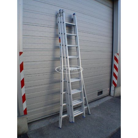Solide Solide professionele reformladder model D 3x9
